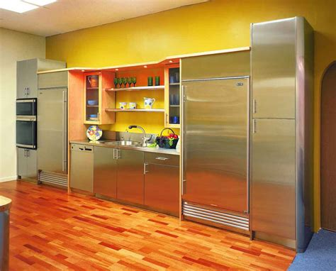 cheerful bright kitchen color ideas  sleek interior