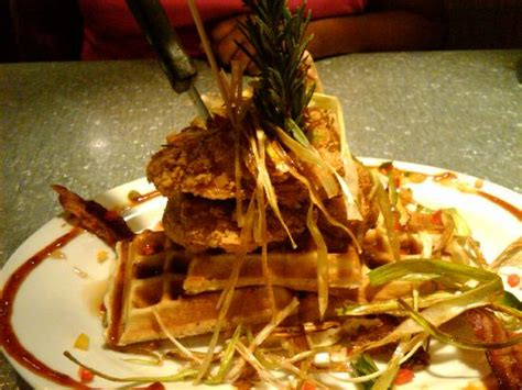 house of chicken and waffles chicken waffles picture of hash house a go go las vegas tripadvisor