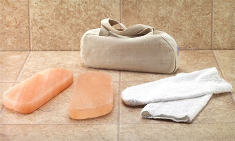 Himalayan Salt Detox Blocks by Himalayan Salt Foot Detox Kit Groupon Goods
