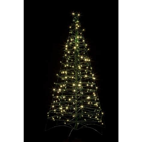 crab pot trees 5 ft pre lit led fold flat outdoor indoor