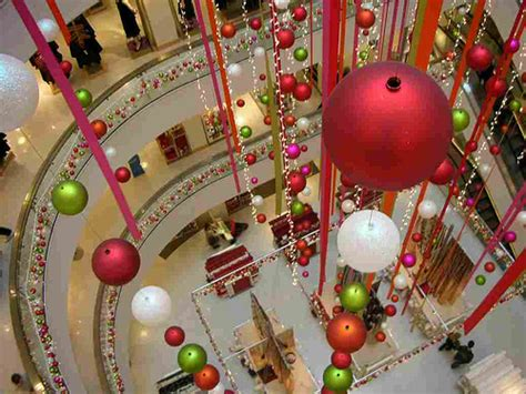 christmas decorations at peter jones a store in london