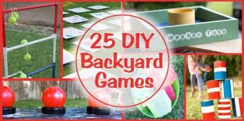 Diy Games by Remodelaholic 25 Diy Backyard Games