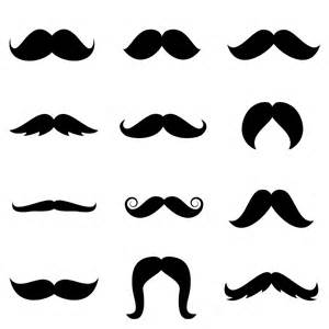 Mustache Print Out Template by Printable Mustaches Templates Clipart Best