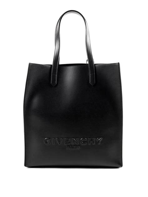 Embossed Tote embossed logo leather tote by givenchy totes bags ikrix