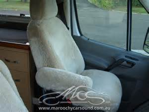 Sheepskin Seat Covers Queensland Mercedes Sprinter Motorhome Sheepskin Seat Covers