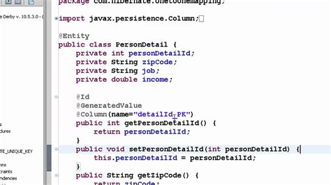 tutorial java hibernate java hibernate tutorial part 16 one to one bi