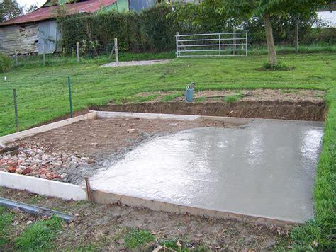 fondation pour garage 20m2 maison fran 231 ois fabie