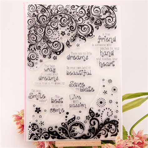 Gift Card Account - dreams smile heart save the date scrapbook diy photo cards account rubber st clear