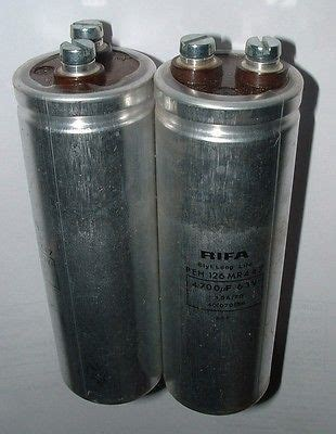 rifa capacitors uk 2 x rifa peh 126 mr 447 4700uf 63v low esr capacitor uk