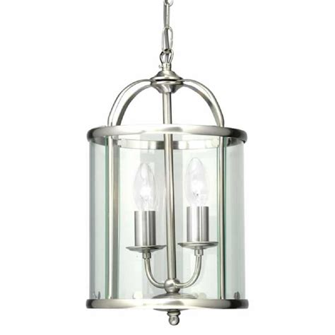 Lantern Pendant Lights Oaks Lighting Fern Antique Chrome Lantern