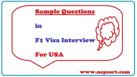 F1 Visa Questions And Answers For Mba by Sle Questions For F1 Visa Preparation