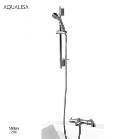 aqualisa midas thermostatic bath shower mixer set uk bathrooms