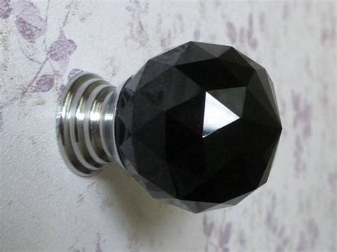 Black Glass Drawer Knobs by Black Glass Knobs Dresser Knobs Drawer Knobs Pulls Handles
