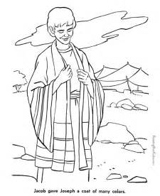 joseph coat of many colors coat of many colors coloring page coloring pages