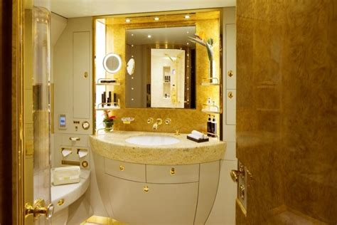 emirates a380 bathroom luxury living best private jet interior designs