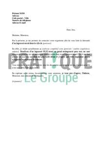 Exemple De Lettre Pour Demande De Logement Hlm Lettre De Demande De Logement Social 224 Un Organisme Hlm Pratique Fr