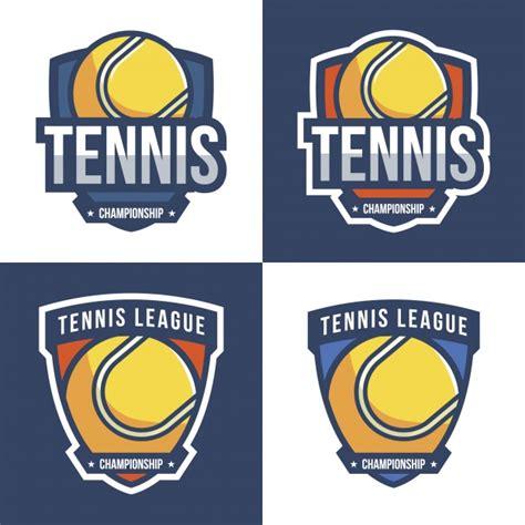 Logo Tenis tennis logo design collection vector free