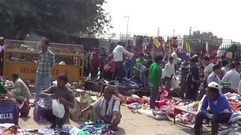 walking   streets  delhi india youtube