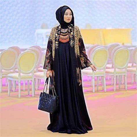 Terbaru L4544 Outer Songket 20 desain baju muslim terbaru dian pelangi 2016 ide model busana