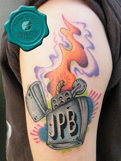 tattoo gun lighter don preston certified artist