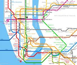 Metro Map New York by New York City Subway Station Map New York Map