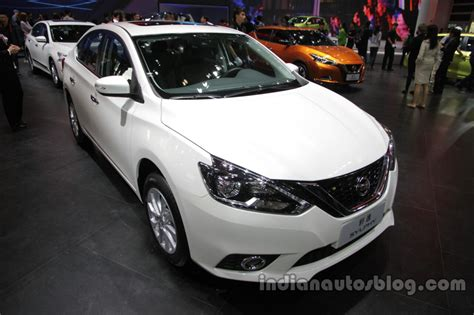 nissan sylphy 2016 2016 nissan sylphy at auto china 2016 front three quarters