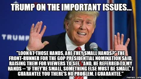 trump   hands donald trumps small hands