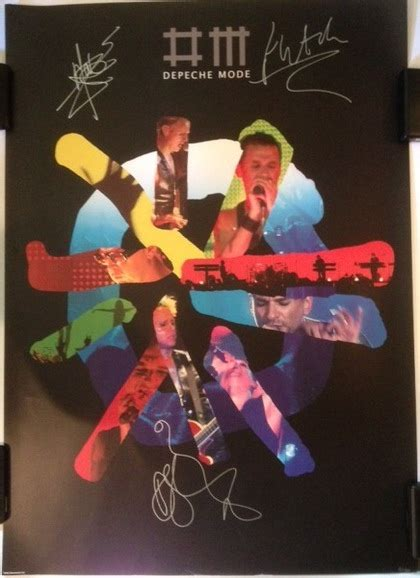 Tas Your Smile Is Charity Limited Edition limited edition 5 150 lithograph autographed by depeche