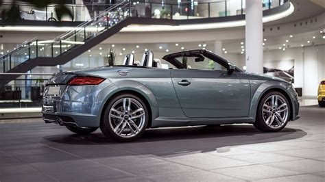 Audi Exklusiv by Audi Exclusive Tt Roadster In Morning Dew Green Pearl