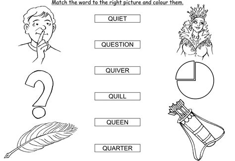 5 Letter Words Beginning With Q clipart thing that start with the letter q collection