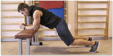 bench knee in how to bench plank with knees bent with pictures