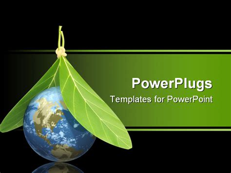environment powerpoint template best powerpoint template conceptual image protection