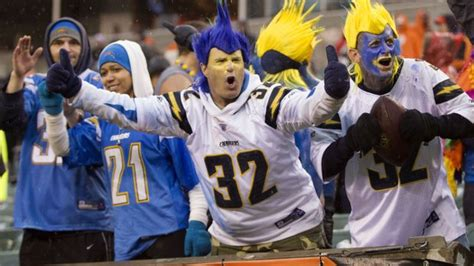 chargers bengals tickets san diego chargers and fans are celebrating its