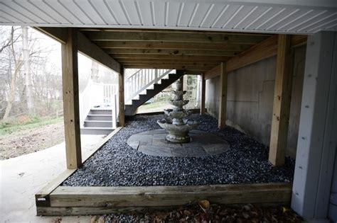 deck deck ceiling water fountain vienna va