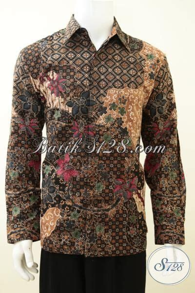 Hem Batik Dolbi hem batik klasik model lengan panjang baju batik furing berbahan dolby yang halus dan