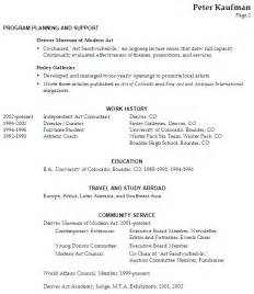 Resume Job Objective by Resume Executive Director Performing Arts Susan