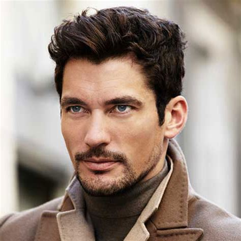wavy curly hair widows peak 17 best widow s peak hairstyles for men