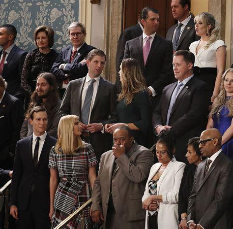 the trump family melania trump bucked women legislators wear black protest