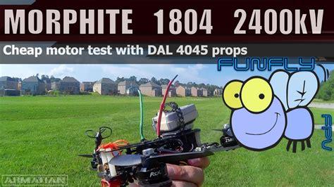 Nose Maxy 1804 rcx 1804 motors on a morphite 180 v2 fpv fpvracer lt