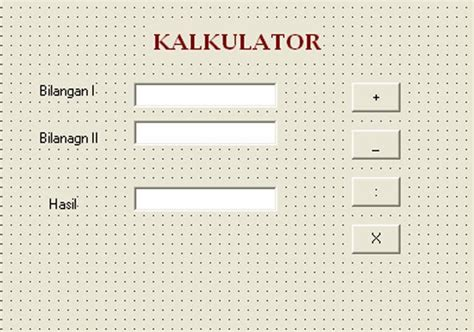 tutorial kalkulator delphi 7 teknik komputer jaringan dan multimedia cara membuat