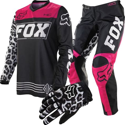 womens thor motocross gear fox racing hc 180 women s package deal chaparral