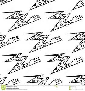 snake with zig zag pattern on back seamless pattern of a zigzag cartoon boa snake stock