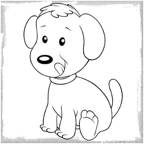 imagenes para pintar tiernas dibujos para pintar de perros tiernos archivos imagenes