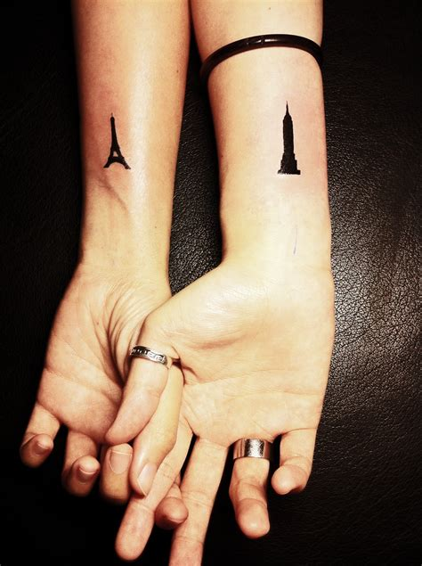 small tattoos for couples
