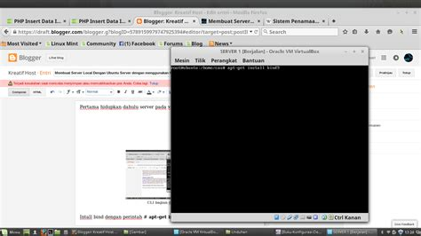 membuat vpn server di ubuntu membuat server local dengan ubuntu server dengan