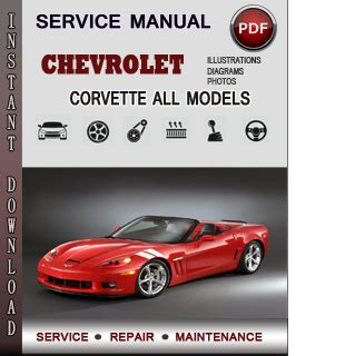 service repair manual free download 1985 chevrolet corvette lane departure warning chevrolet corvette service repair manual download info service manuals