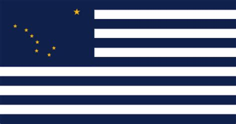 dragon flags: the draconic states of alaska flag by