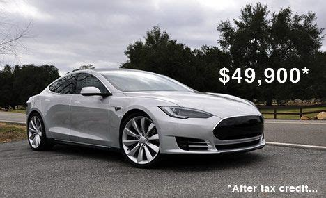 Electric Car Tesla Cost Tesla Motors Reveals More Details On Model S Pricing