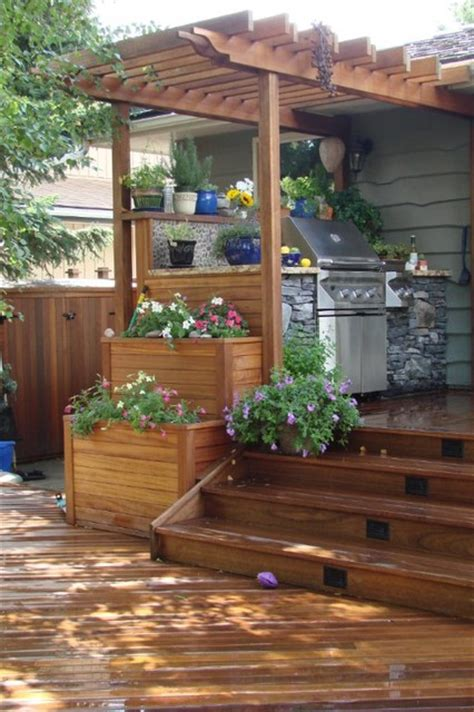 decking fencing stairs planter boxes and