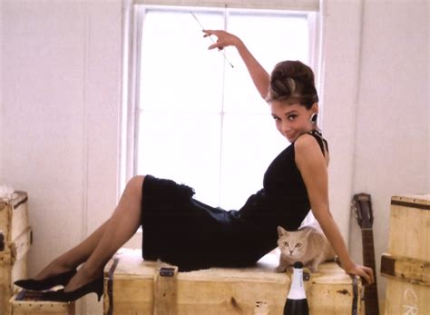Hepburn In Breakfast At Tiffanys by Breakfast At S Style By